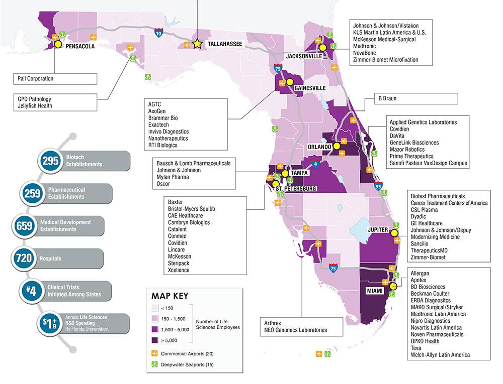 Florida Universities Map